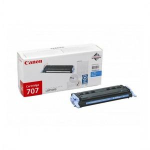 Canon 707C голубой лазерный картридж