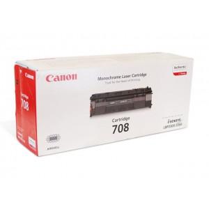 Canon 708 чёрный лазерный картридж