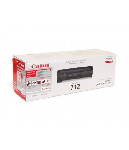 Canon 712 чёрный лазерный картридж