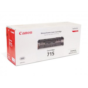 Canon 715 чёрный лазерный картридж