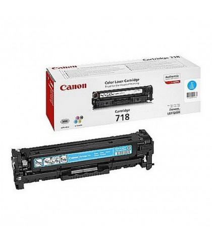 Canon 718C голубой лазерный картридж