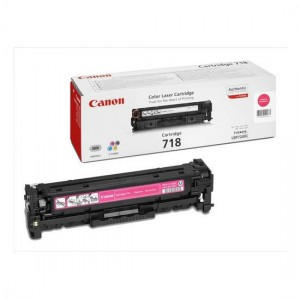Canon 718M пурпурный лазерный картридж