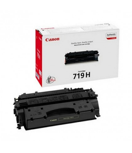 Canon 719H чёрный лазерный картридж