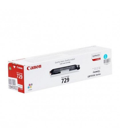 Canon 729C голубой лазерный картридж