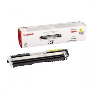 Canon 729Y жёлтый лазерный картридж