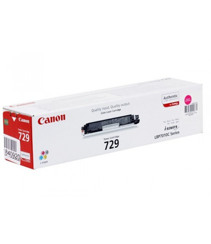 Canon 729M пурпурный лазерный картридж