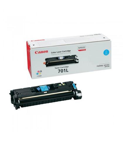 Canon 701LC голубой лазерный картридж