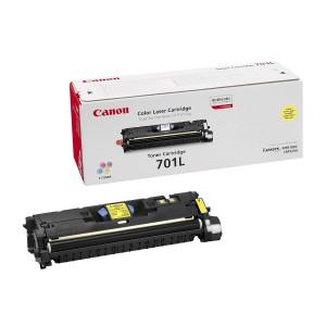 Canon 701LY жёлтый лазерный картридж