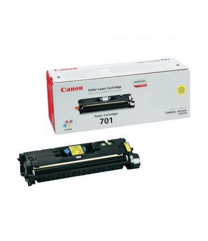 Canon 701Y жёлтый лазерный картридж