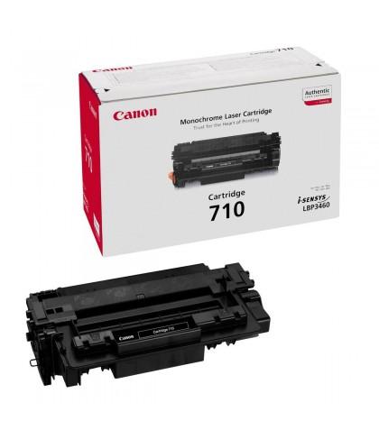 Canon 710 чёрный лазерный картридж
