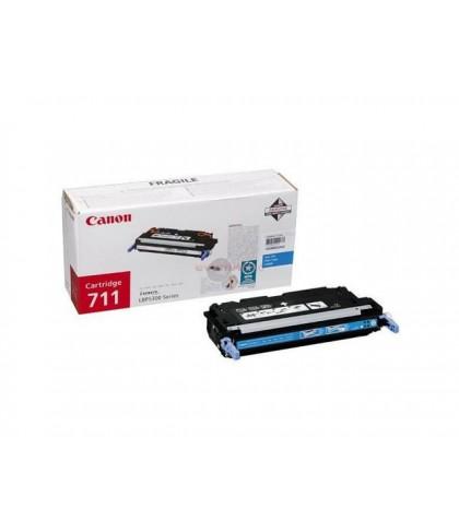 Canon 711c голубой лазерный картридж