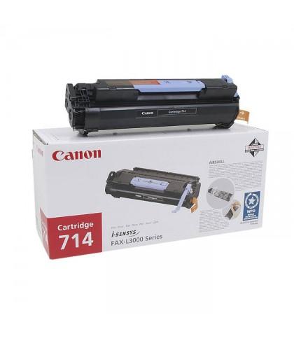 Canon 714 чёрный лазерный картридж