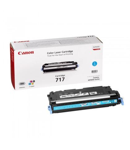 Canon 717C голубой лазерный картридж