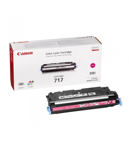 Canon 717M пурпурный лазерный картридж