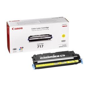 Canon 717Y жёлтый лазерный картридж