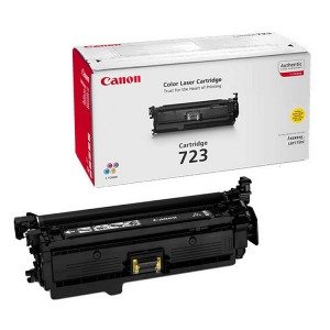 Canon 723Y жёлтый  лазерный картридж
