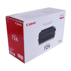 Canon 724 чёрный лазерный картридж