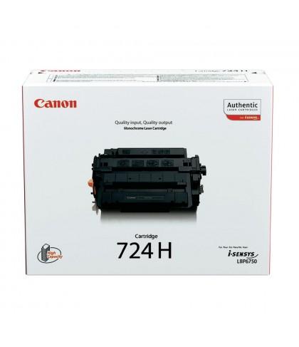 Canon 724H чёрный лазерный картридж
