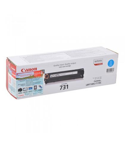 Canon 731C голубой лазерный картридж