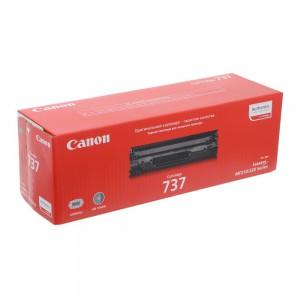 Canon 737 чёрный лазерный картридж