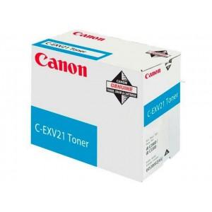 Canon C-EXV21c голубой тонер картридж
