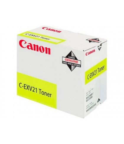 Canon C-EXV21y жёлтый тонер картридж
