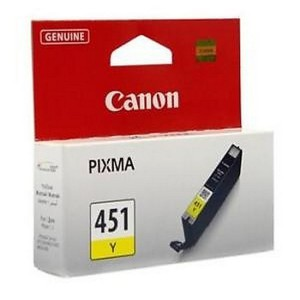 Canon CLI-451y жёлтый струйный картридж