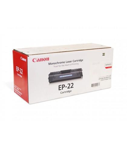 Canon EP-22 чёрный лазерный картридж