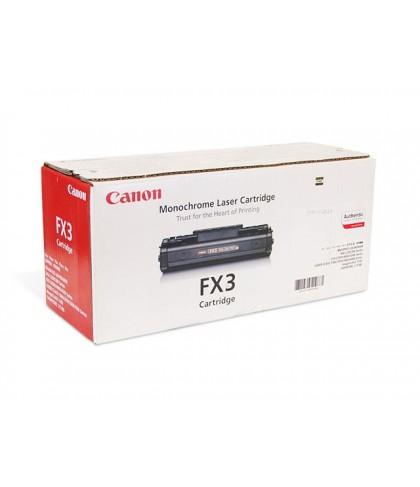 Canon FX-3 чёрный лазерный картридж