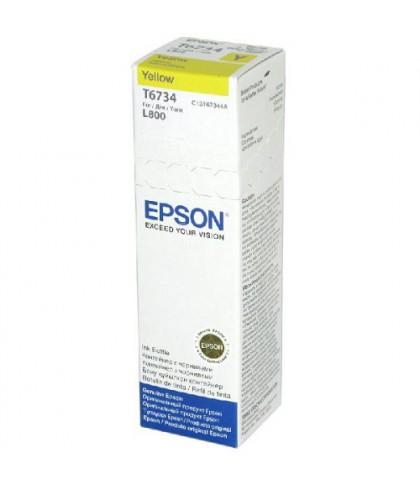 C13T67344A картридж Epson T6734 yellow