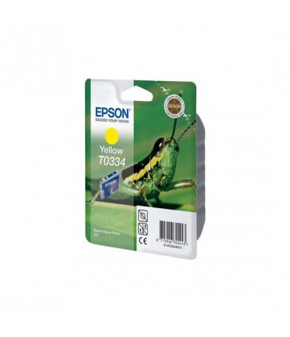 C13T03344010 картридж Epson T0334 yellow