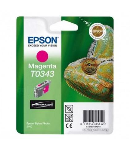 C13T03434010 картридж Epson T0343 magenta