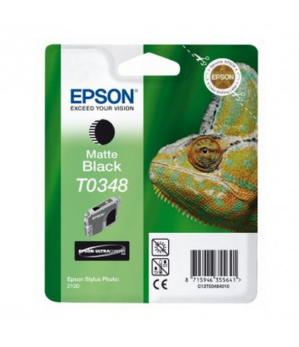 C13T03484010 картридж Epson T0348 matte black