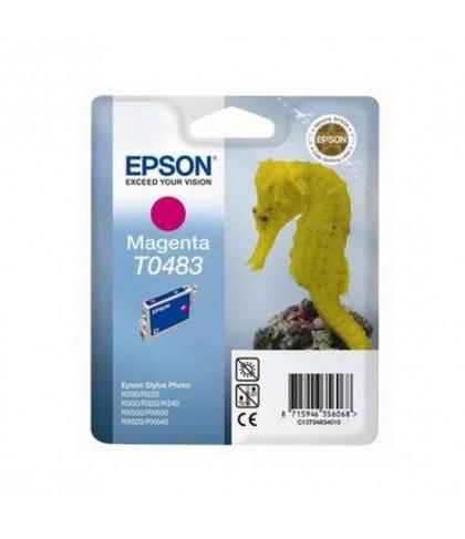 C13T04834010 картридж Epson T0483 magenta