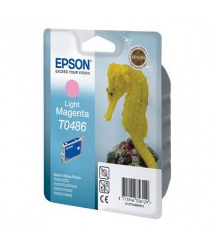 C13T04864010 картридж Epson T0486 light magenta