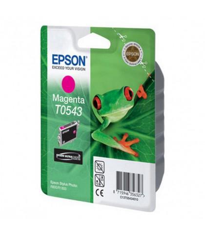 C13T05434010 картридж Epson T0543 magenta