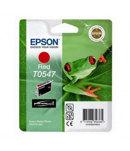 C13T05474010 картридж Epson T0547 red