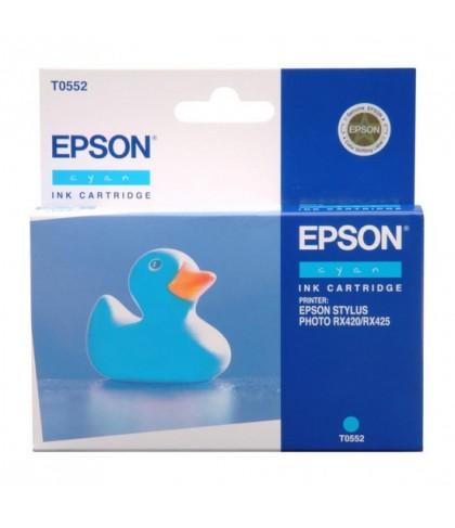 C13T05524010 картридж Epson T0552 cyan
