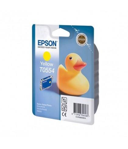 C13T05544010 картридж Epson T0554 yellow
