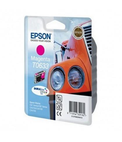 C13T06334A10 картридж Epson T0633 magenta