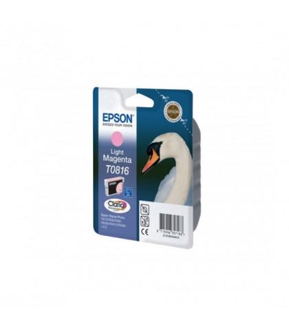 C13T11164A10 картридж Epson T0816 light magenta