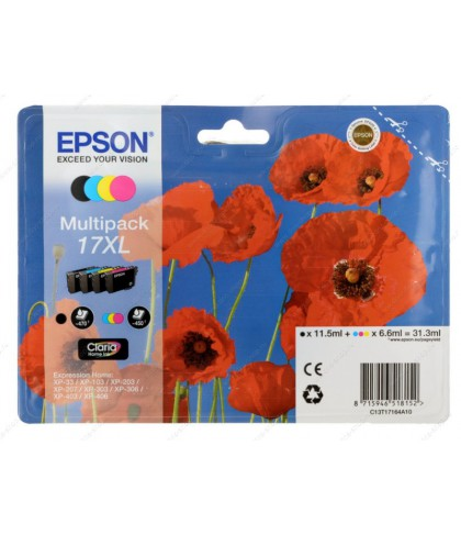 C13T17164A10 картридж Epson T17164 multipack 17xl