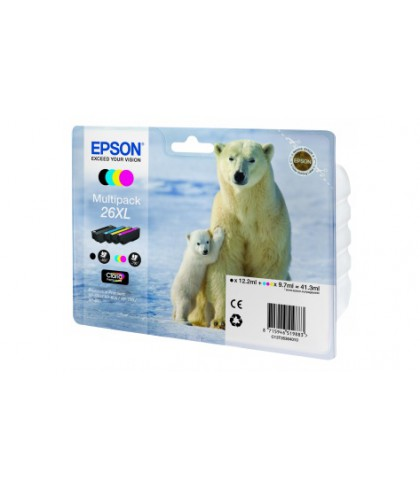 C13T26364010 картридж Epson T2636 multipack 26xl
