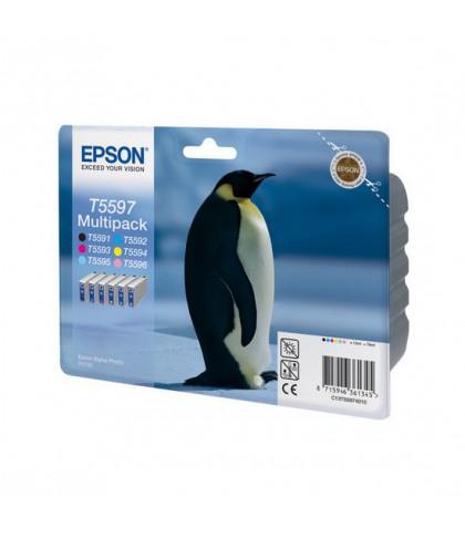 C13T55974010 картридж Epson T5597 multipack