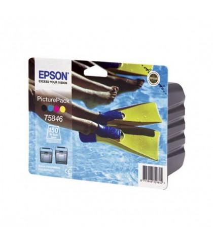 C13T58464010 картридж Epson T5846 PicturePack
