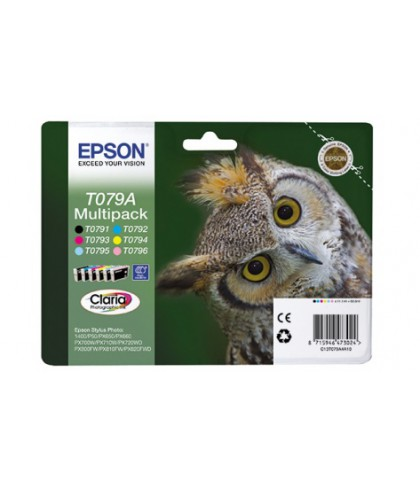 C13T079A4A10  картридж Epson T079A4 multipack