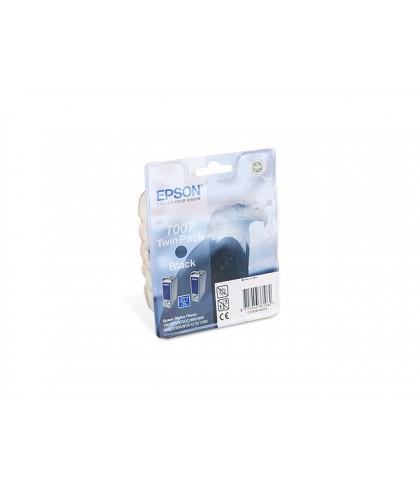 C13T00740210 картридж Epson T007 + T007 black