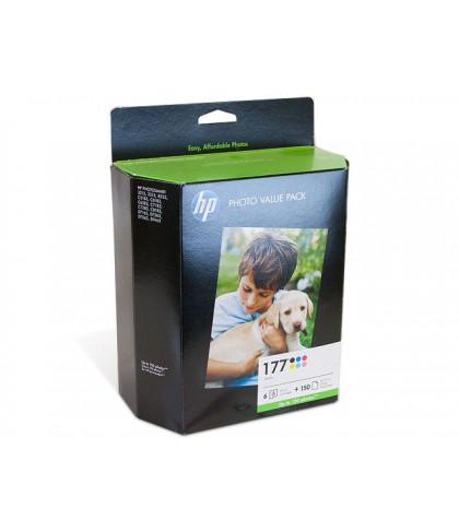 Q7967HE картридж HP 177 photo value pack