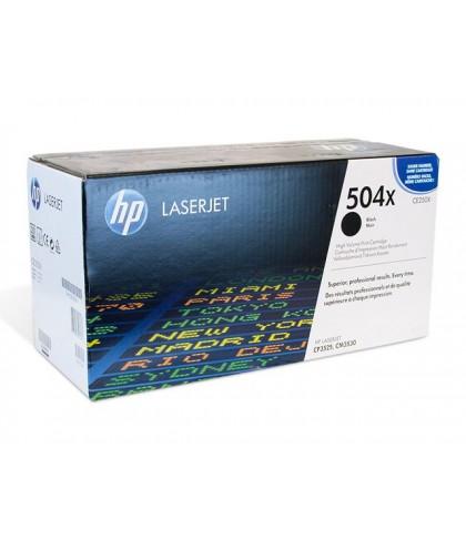CE250X картридж HP 504X black