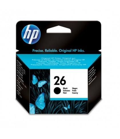 51626AE картридж HP 26 black